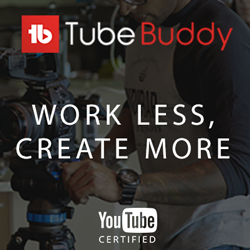 TubeBuddy Certified